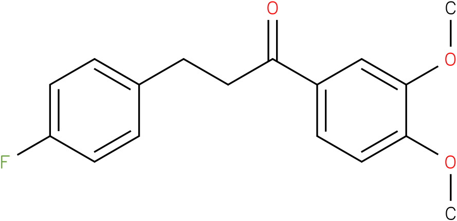 1-(3,4-Dimethoxy-phenyl)-3-(4-fluoro-phenyl)-propan-1-one