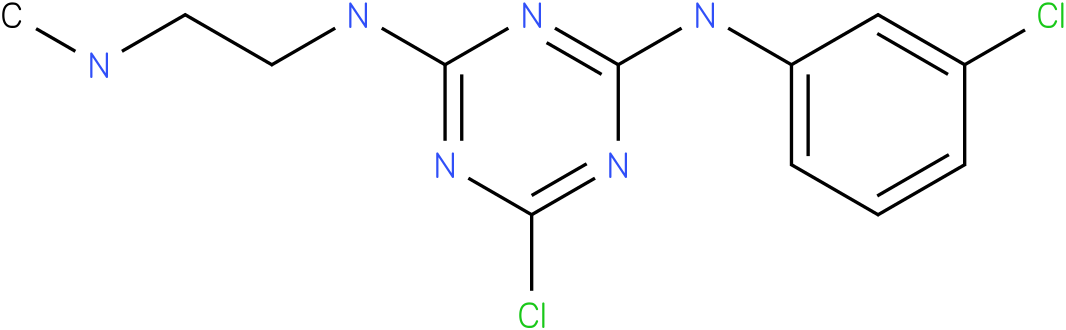 6-Chloro-N-(3-chloro-phenyl)-N'-(2-methylamino-ethyl)-[1,3,5]triazine-2,4-diamine