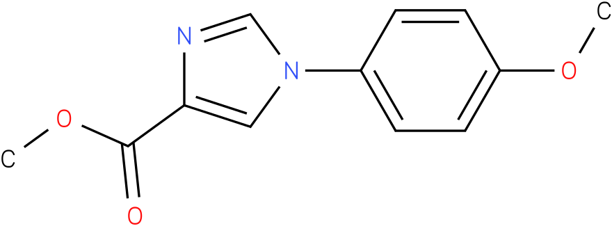 1-(4-Methoxy-phenyl)-1H-imidazole-4-carboxylic acid methyl ester