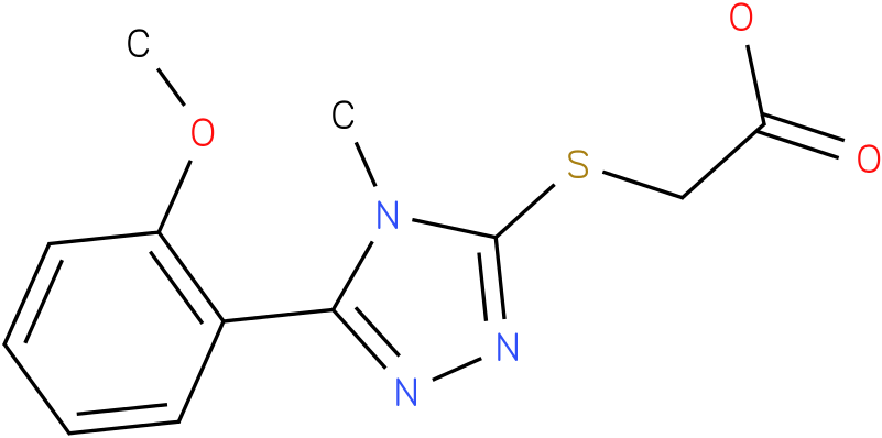 [5-(2-Methoxy-phenyl)-4-methyl-4H-[1,2,4]triazol-3-ylsulfanyl]-acetic acid