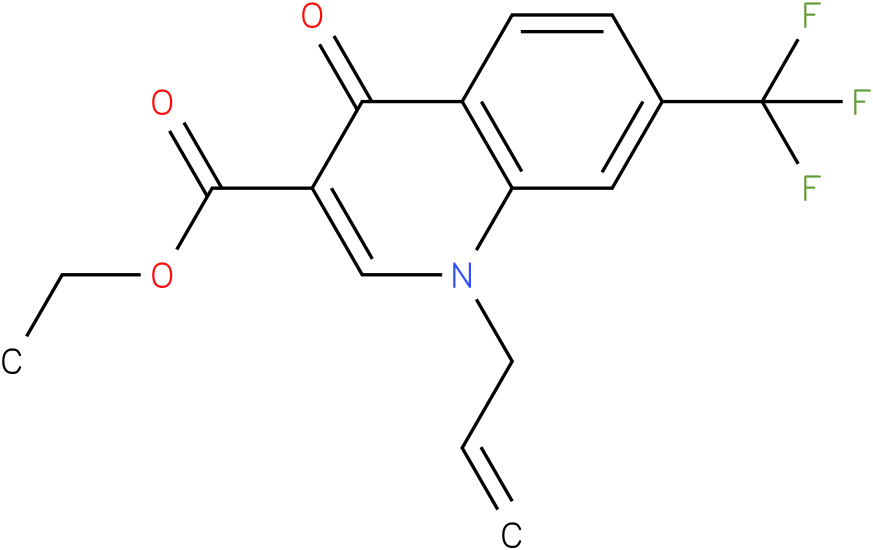 1-Allyl-4-oxo-7-trifluoromethyl-1,4-dihydro-quinoline-3-carboxylic acid ethyl ester