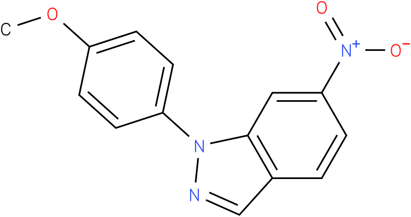 1-(4-Methoxy-phenyl)-6-nitro-1H-indazole