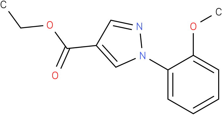 1-(2-Methoxy-phenyl)-1H-pyrazole-4-carboxylic acid ethyl ester