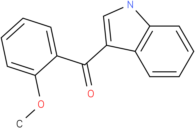 (1H-Indol-3-yl)-(2-methoxy-phenyl)-methanone