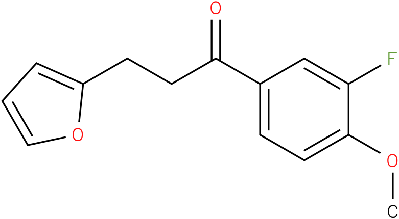1-(3-Fluoro-4-methoxy-phenyl)-3-furan-2-yl-propan-1-one