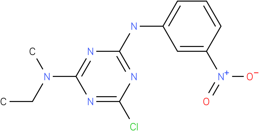6-Chloro-N-ethyl-N-methyl-N'-(3-nitro-phenyl)-[1,3,5]triazine-2,4-diamine