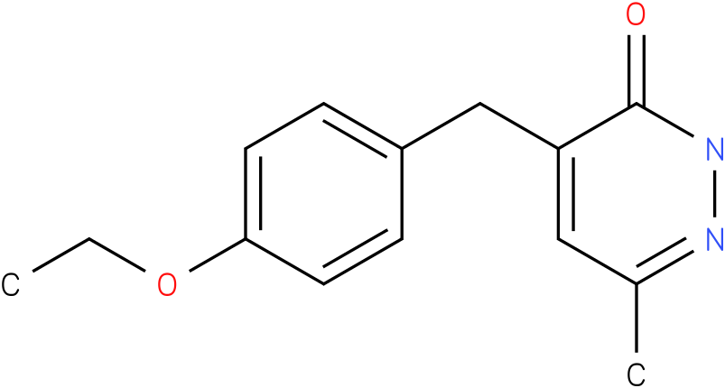 4-(4-Ethoxy-benzyl)-6-methyl-2H-pyridazin-3-one