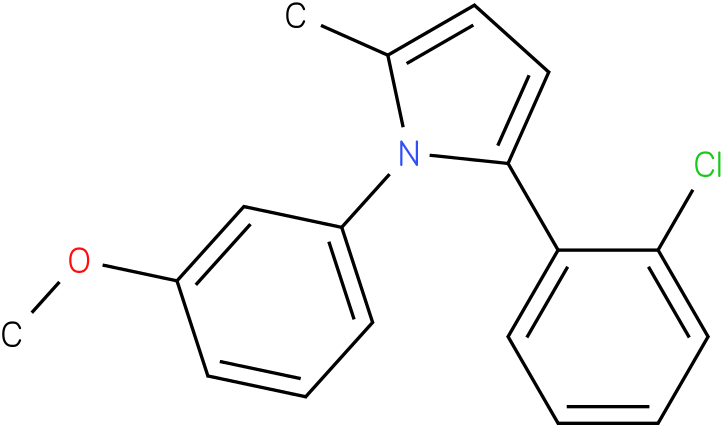2-(2-Chloro-phenyl)-1-(3-methoxy-phenyl)-5-methyl-1H-pyrrole