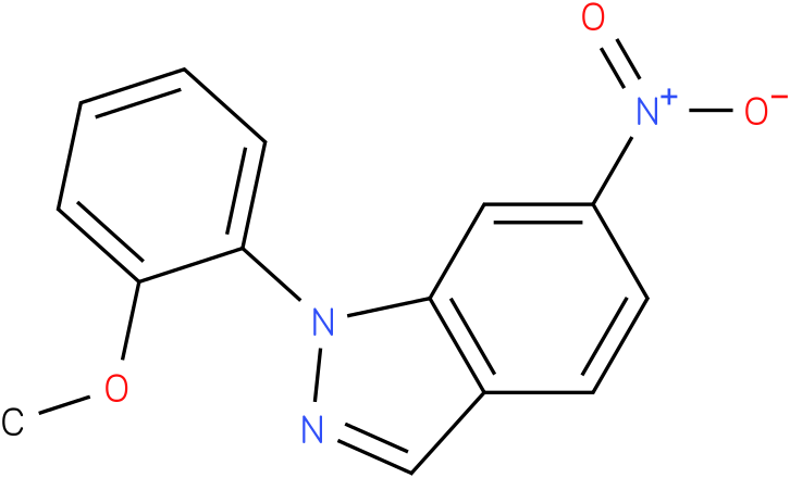 1-(2-Methoxy-phenyl)-6-nitro-1H-indazole