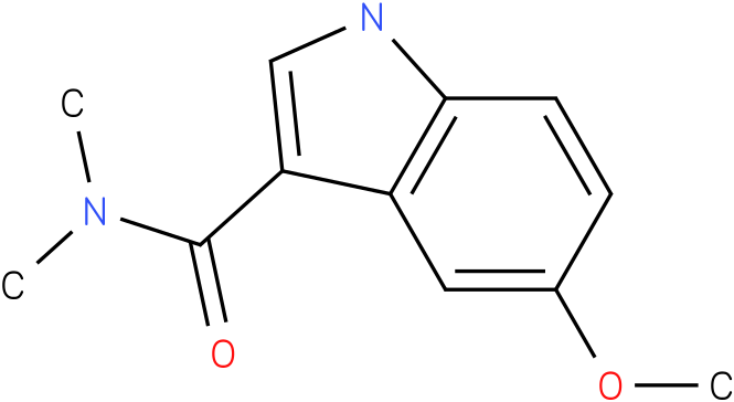 5-Methoxy-1H-indole-3-carboxylic acid dimethylamide