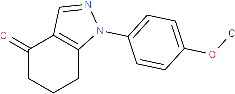 1-(4-Methoxy-phenyl)-1,5,6,7-tetrahydro-indazol-4-one