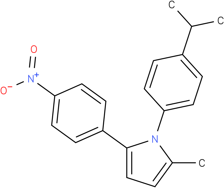 1-(4-Isopropyl-phenyl)-2-methyl-5-(4-nitro-phenyl)-1H-pyrrole