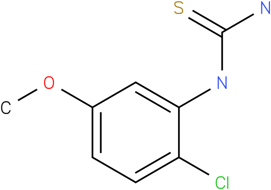 (2-Chloro-5-methoxy-phenyl)-thiourea
