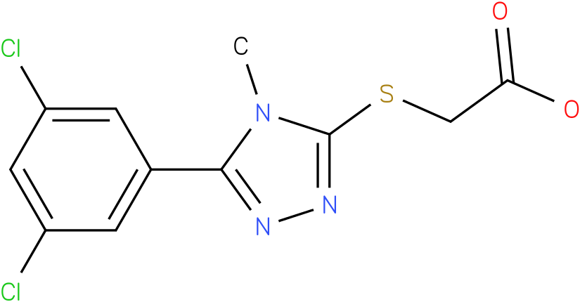 [5-(3,5-Dichloro-phenyl)-4-methyl-4H-[1,2,4]triazol-3-ylsulfanyl]-acetic acid