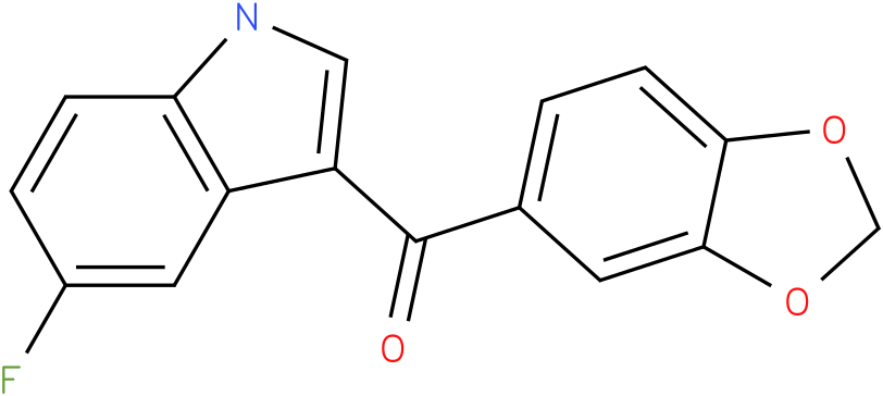 Benzo[1,3]dioxol-5-yl-(5-fluoro-1H-indol-3-yl)-methanone