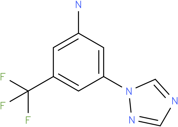3-[1,2,4]Triazol-1-yl-5-trifluoromethyl-phenylamine