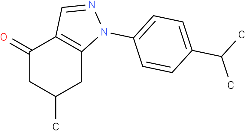 1-(4-Isopropyl-phenyl)-6-methyl-1,5,6,7-tetrahydro-indazol-4-one