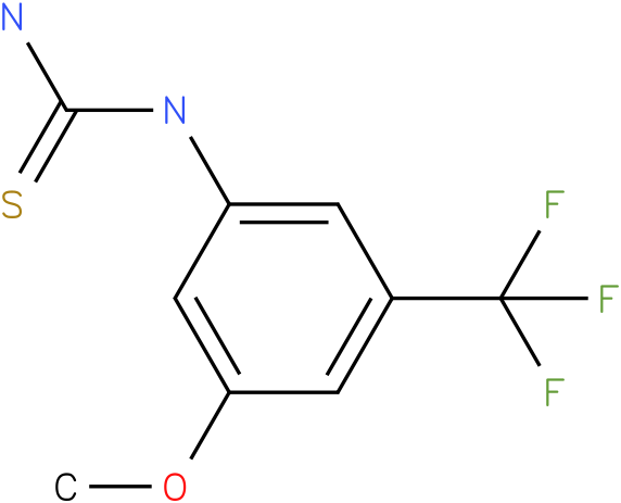 (3-Methoxy-5-trifluoromethyl-phenyl)-thiourea