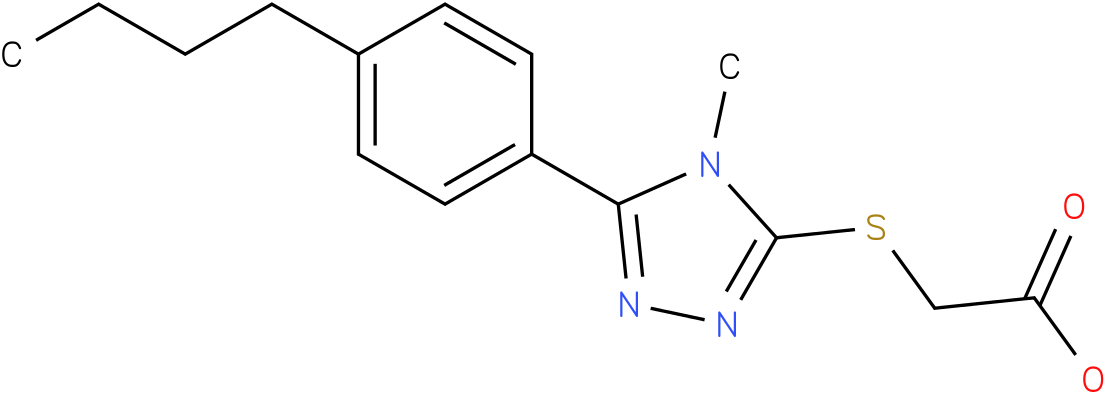 [5-(4-Butyl-phenyl)-4-methyl-4H-[1,2,4]triazol-3-ylsulfanyl]-acetic acid
