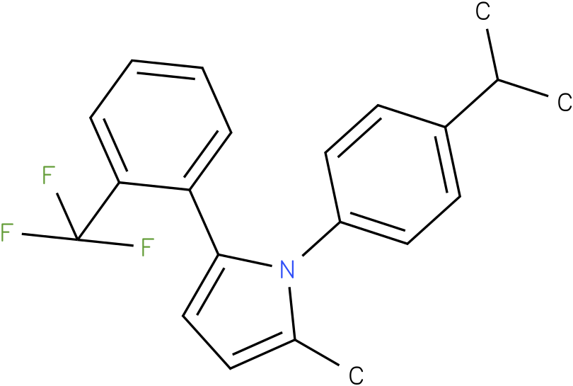 1-(4-Isopropyl-phenyl)-2-methyl-5-(2-trifluoromethyl-phenyl)-1H-pyrrole