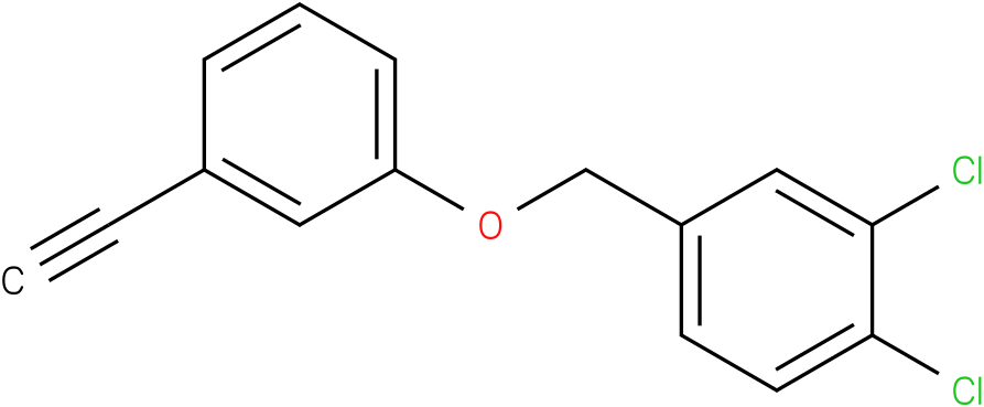 1,2-Dichloro-4-(3-ethynyl-phenoxymethyl)-benzene