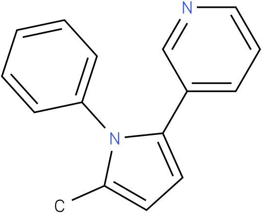 3-(5-Methyl-1-phenyl-1H-pyrrol-2-yl)-pyridine