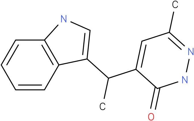 6-Methyl-4-(1-methyl-1H-indol-3-ylmethyl)-2H-pyridazin-3-one