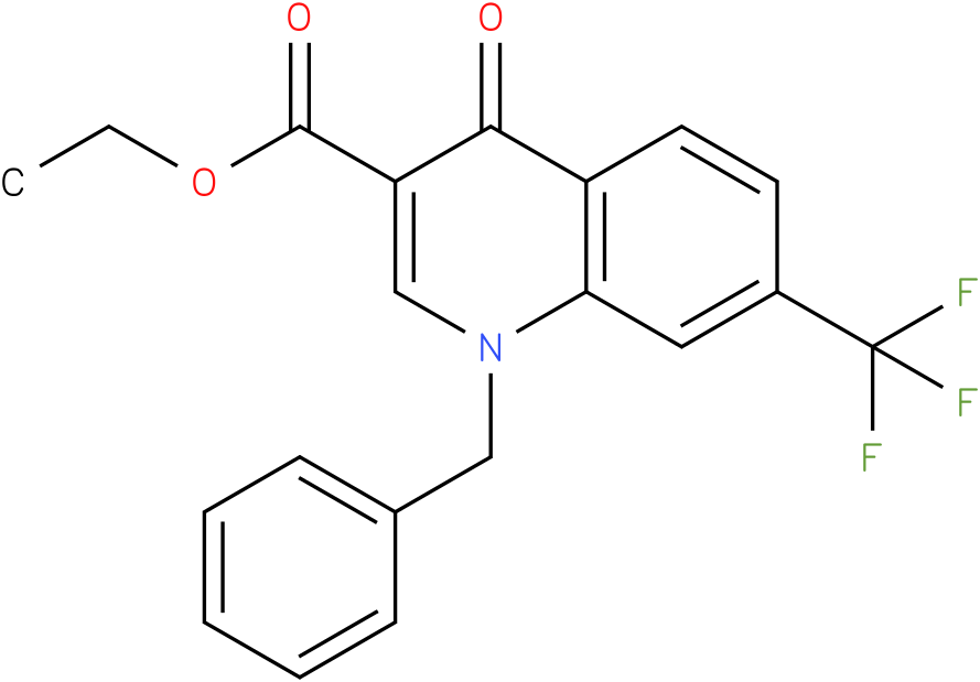 1-Benzyl-4-oxo-7-trifluoromethyl-1,4-dihydro-quinoline-3-carboxylic acid ethyl ester