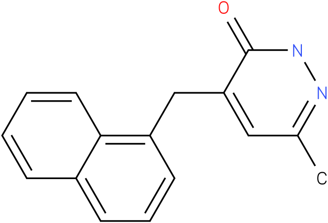 6-Methyl-4-naphthalen-1-ylmethyl-2H-pyridazin-3-one