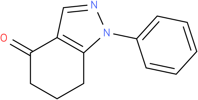 1-Phenyl-1,5,6,7-tetrahydro-indazol-4-one