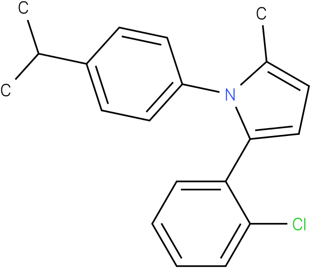 2-(2-Chloro-phenyl)-1-(4-isopropyl-phenyl)-5-methyl-1H-pyrrole