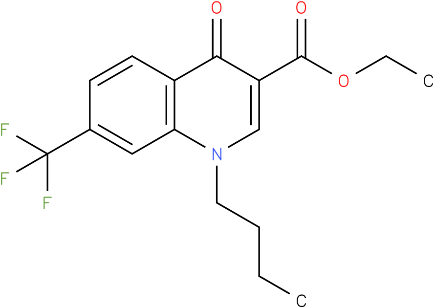 1-Butyl-4-oxo-7-trifluoromethyl-1,4-dihydro-quinoline-3-carboxylic acid ethyl ester