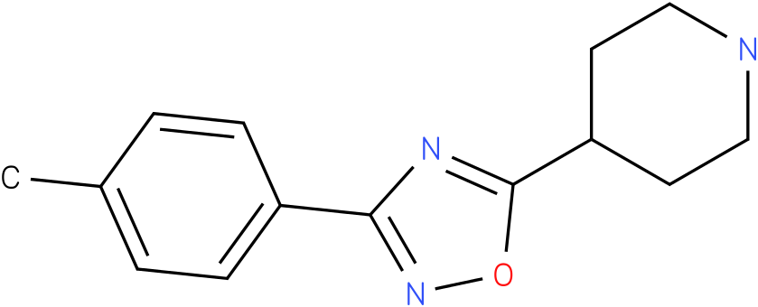 4-(3-p-Tolyl-[1,2,4]oxadiazol-5-yl)-piperidine