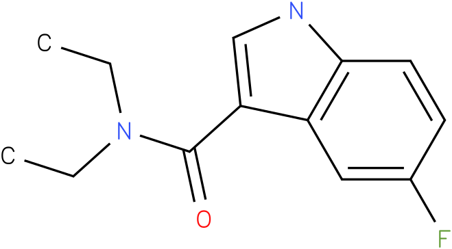 5-Fluoro-1H-indole-3-carboxylic acid diethylamide