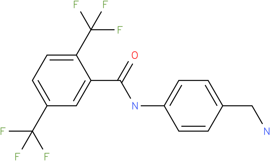 N-(4-Aminomethyl-phenyl)-2,5-bis-trifluoromethyl-benzamide