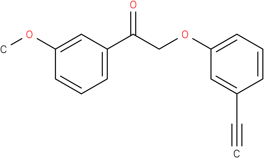 2-(3-Ethynyl-phenoxy)-1-(3-methoxy-phenyl)-ethanone