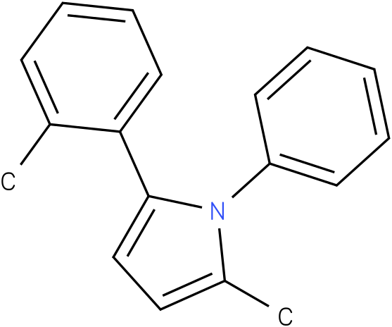 2-Methyl-1-phenyl-5-o-tolyl-1H-pyrrole