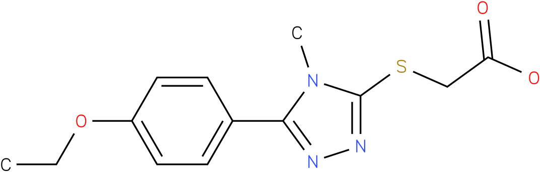 [5-(4-Ethoxy-phenyl)-4-methyl-4H-[1,2,4]triazol-3-ylsulfanyl]-acetic acid