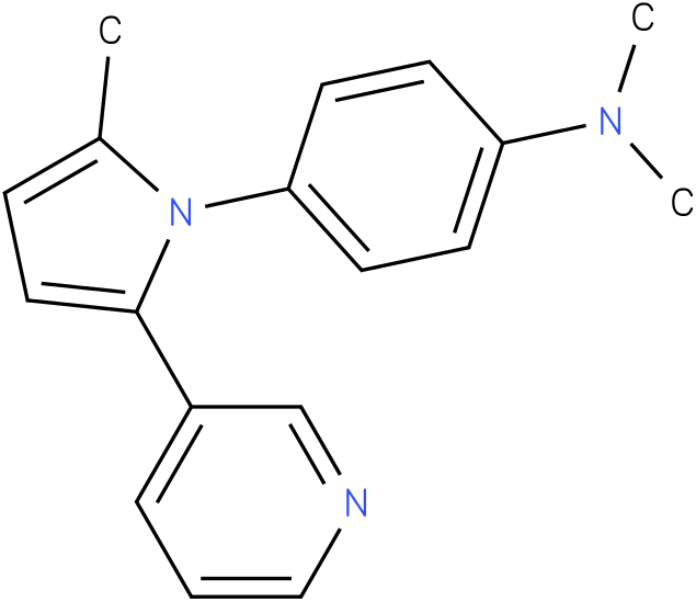 Dimethyl-[4-(2-methyl-5-pyridin-3-yl-pyrrol-1-yl)-phenyl]-amine