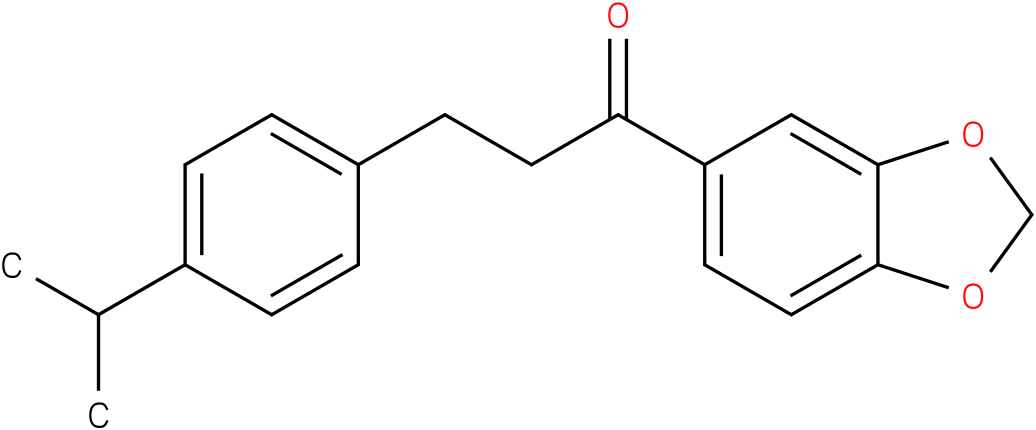 1-Benzo[1,3]dioxol-5-yl-3-(4-isopropyl-phenyl)-propan-1-one
