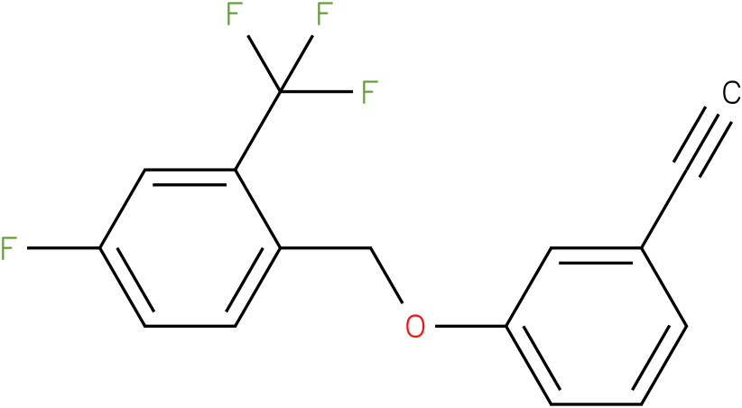 1-(3-Ethynyl-phenoxymethyl)-4-fluoro-2-trifluoromethyl-benzene