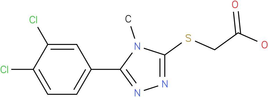 [5-(3,4-Dichloro-phenyl)-4-methyl-4H-[1,2,4]triazol-3-ylsulfanyl]-acetic acid