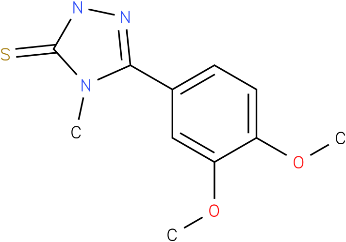 5-(3,4-Dimethoxy-phenyl)-4-methyl-2,4-dihydro-[1,2,4]triazole-3-thione