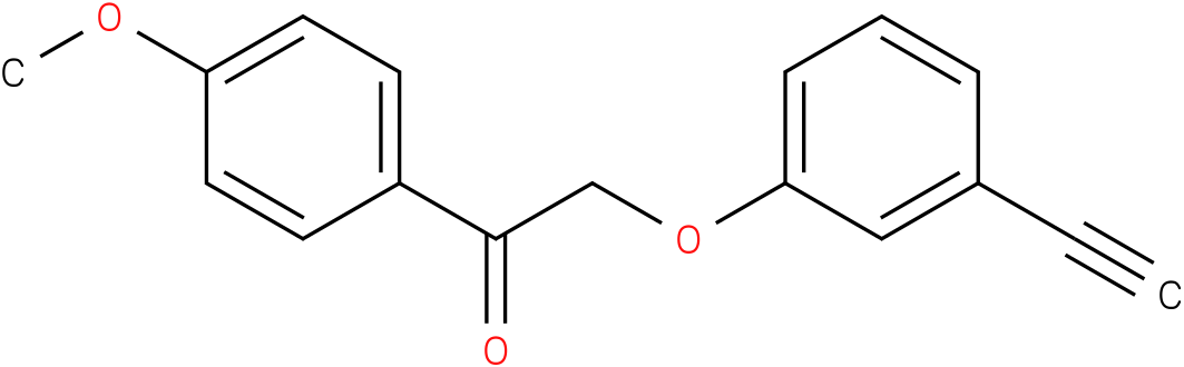 2-(3-Ethynyl-phenoxy)-1-(4-methoxy-phenyl)-ethanone