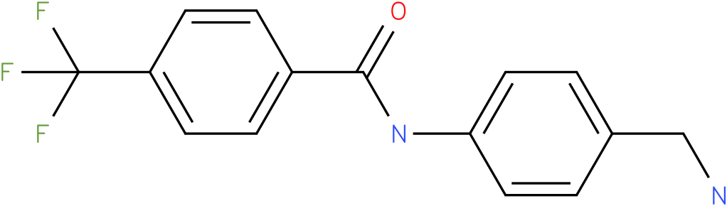 N-(4-Aminomethyl-phenyl)-4-trifluoromethyl-benzamide