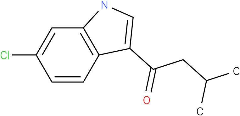 1-(6-Chloro-1H-indol-3-yl)-3-methyl-butan-1-one