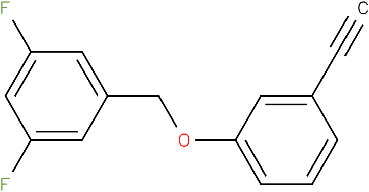 1-(3-Ethynyl-phenoxymethyl)-3,5-difluoro-benzene
