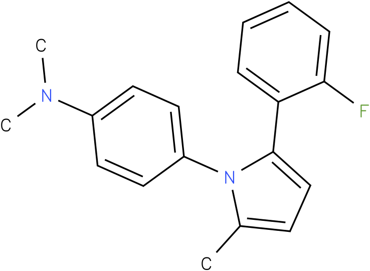 {4-[2-(2-Fluoro-phenyl)-5-methyl-pyrrol-1-yl]-phenyl}-dimethyl-amine