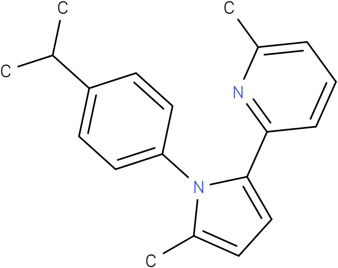 2-[1-(4-Isopropyl-phenyl)-5-methyl-1H-pyrrol-2-yl]-6-methyl-pyridine