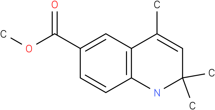 2,2,4-Trimethyl-1,2-dihydro-quinoline-6-carboxylic acid methyl ester